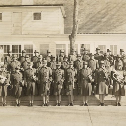 2014 US Army Women's Foundation Hall of Fame Inductee the 14 WAC All Female Band
