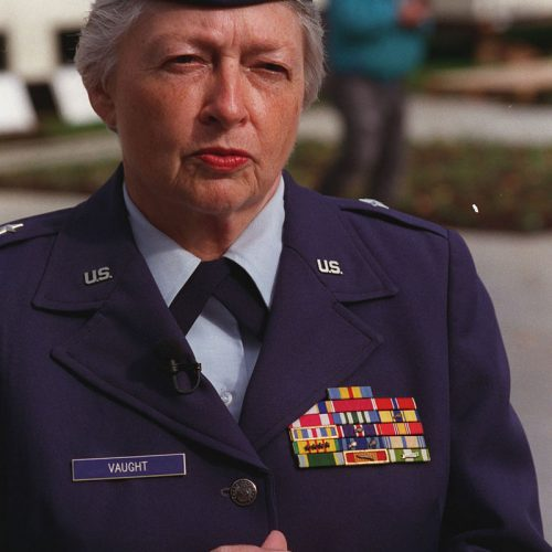 2010 US Army Women's Foundation Hall of Fame Inductee BG Wilma Vaught USAF (Ret.)