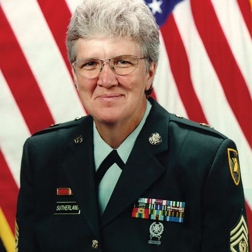 2015 US Army Womens Foundation Hall of Fame Inductee Mary Sutherland was awarded posthumously