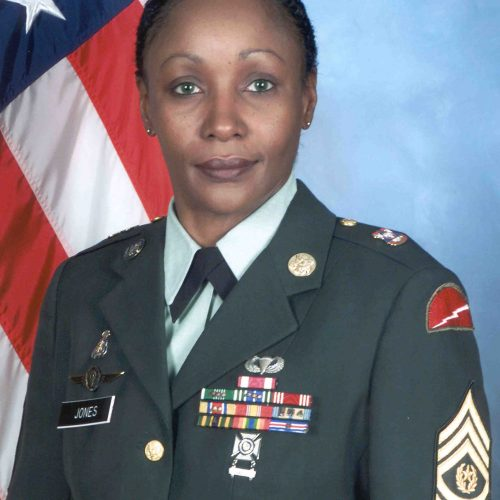 CSM Michelle Jones 2014 US Army Womens Foundation Hall of Fame Inductee Female First Award