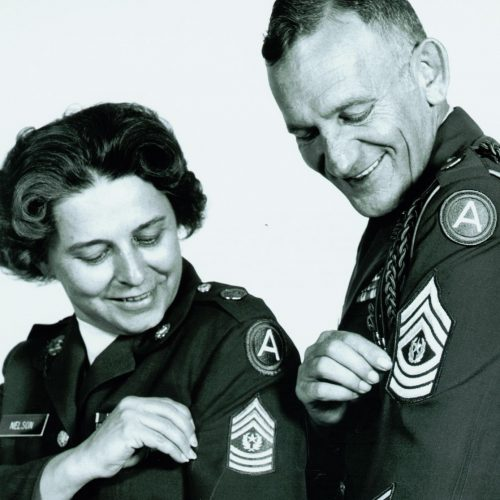 2013 US Army Women's Foundation Hall of Fame Inductee CSM Yzette Nelson the first women appointed CSM