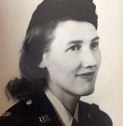 2014 US Army's Women Foundation Hall of Fame Silver Star Recipient Inductee 2LT Ellen Ainsworth