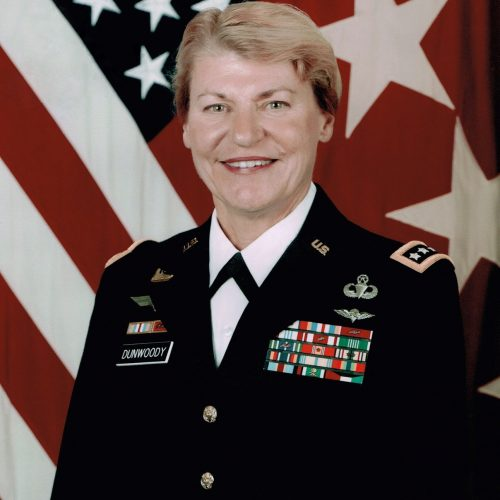 2013 US Army Women's Foundation Hall of Fame Inductee Gen Ann Dunwoody - USA Retired