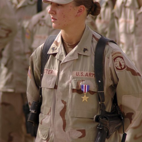 2014 US Army Women's Foundation Hall of Fame Silver Star Inductee SGT Leigh Ann Hester
