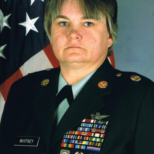 MSG Tanya Whitney (Ret.) Army Women's Foundation 2020 Hall of Fame Inductee