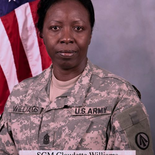 2020 US Army Women's Foundation Special Recognition Inductee SCM Claudette Williams
