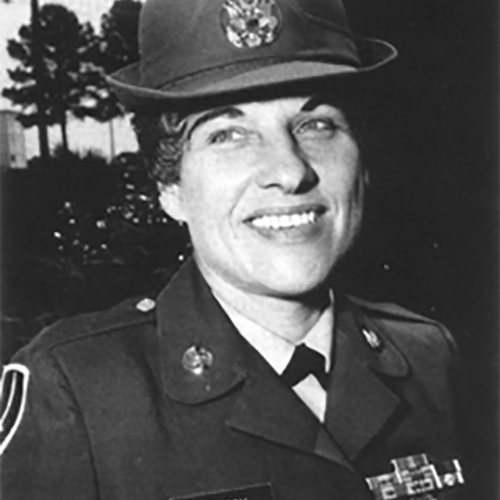2017 US Army Women's Foundation Hall of Fame Inductee CSM Betty Benson USA, Retired (Posthumously)
