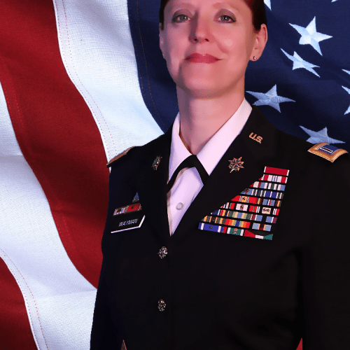 2020 US Army Women's Foundation Hall of Fame Inductee CW5 Wendy Wayman