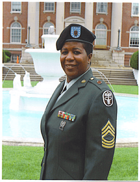 2020 US Army Women's Foundation Hall of Fame Inductee Elizabeth Anne Helm-Frazier