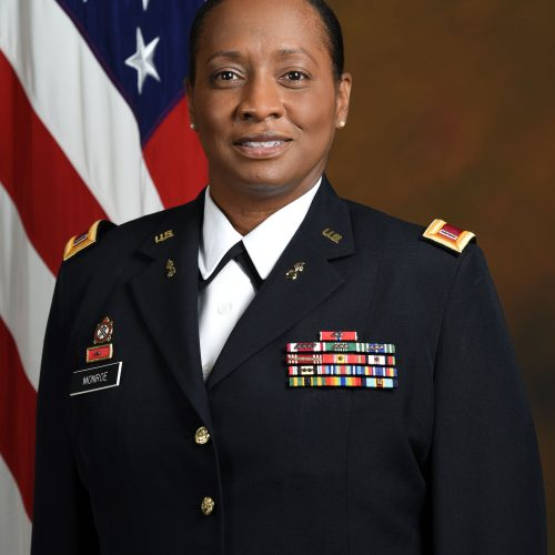 2020 US Army Women's Foundation Hall of Fame Inductee CW5 Cheryl Monroe USA