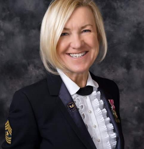 2020 US Army Women's Foundation Hall of Fame Inductee SGM Karla Frank USA (Ret.)