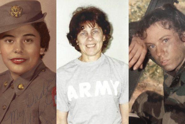 Three women veterans